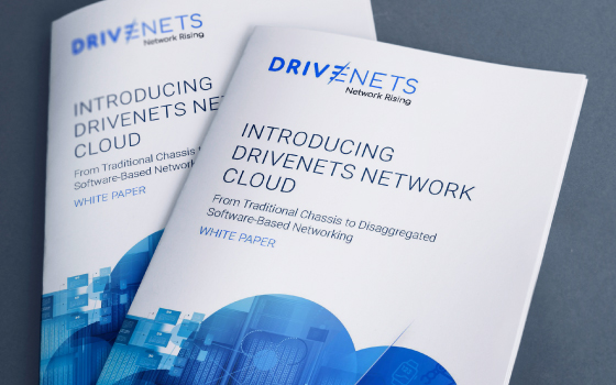Introducing DriveNets Network Cloud