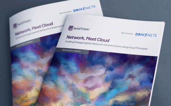 Network, Meet Cloud – Scaling Disaggregated Network Infrastructure using Cloud Principles