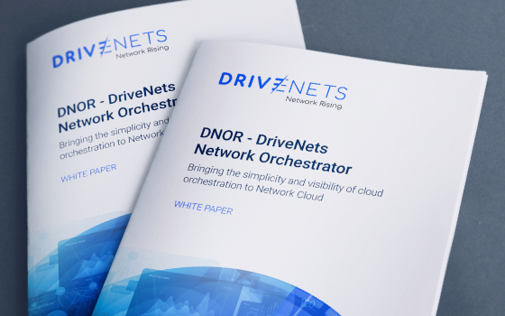 DNOR – DriveNets Network Orchestrator