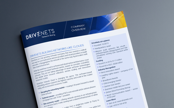 DriveNets Company Overview